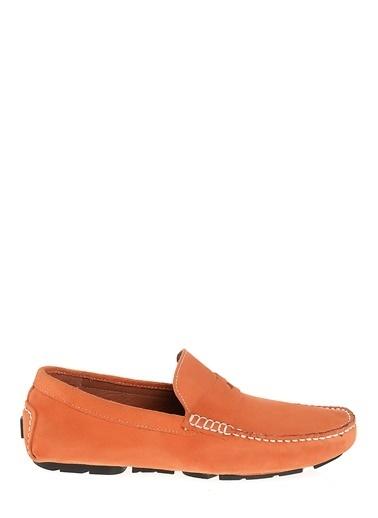 Kebo %100 Deri Loafer Oranj